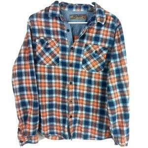 Red Snap Clothing Company Men's Flannel Button Dow